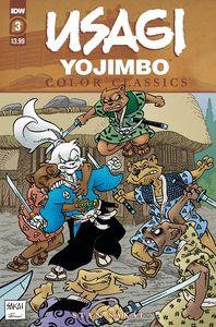 [Usagi Yojimbo: Colour Classics #3 (Cover A Sakai) (Product Image)]
