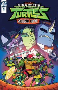 [Teenage Mutant Ninja Turtles: Rise Of Teenage Mutant Ninja Turtles: Sound Off #1 (Cover A Thomas) (Product Image)]