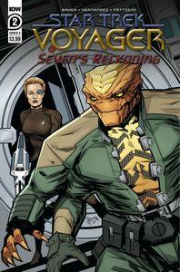 [Star Trek: Voyager: Sevens Reckoning #2 (Cover A Hernande) (Product Image)]