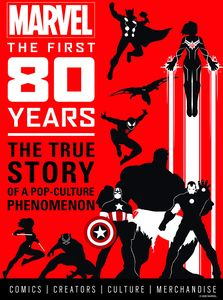 [Marvel Comics: The First 80 Years (Hardcover) (Product Image)]