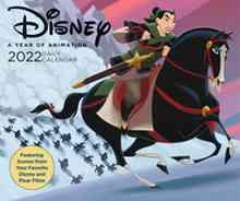 [The cover for Disney: 2022 Daily Desk Calendar]