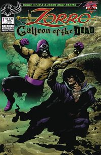 [The cover for Zorro: Galleon Of The Dead #1 (Cover A Martinez)]