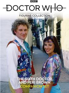 [Doctor Who Figurine Collection: Companion Set #14: 6th Doctor & Peri Brown (Product Image)]