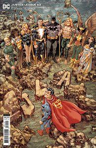 [Justice League #63 (Dan Panosian Cardstock Variant) (Product Image)]