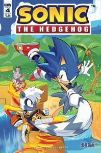 [Sonic The Hedgehog #4 (Cover A Hesse) (Product Image)]