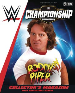 [WWE Figurine Championship Collection #30: Rowdy Roddy Piper (Product Image)]