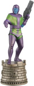 [Marvel: Figure Chess Collection #11 Kang: Black Rook (Product Image)]