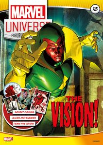 [Marvel Universe Figurine Collection #18: Vision (Product Image)]
