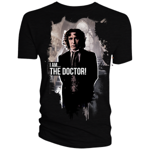 [Doctor Who: Anniversary Collection: T-Shirt: The Eighth Doctor (Colour) (Product Image)]
