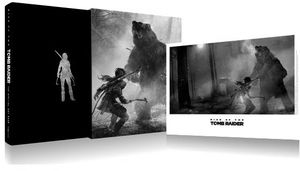 [Rise Of The Tomb Raider: The Official Art Book (Limited Edition Hardcover) (Product Image)]