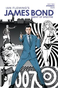 [The cover for James Bond: Agent Of Spectre #3]