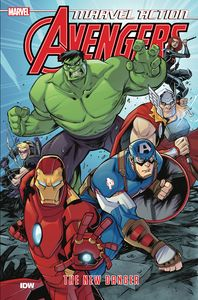 [Marvel Action: Avengers: Book 1: The New Danger (Product Image)]