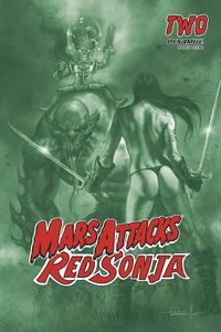 [Mars Attacks/Red Sonja #2 (Parrillo Tint Variant) (Product Image)]