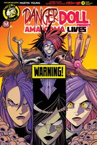 [Danger Doll Squad Presents: Amalgama Lives #4 (Cover D Maccagni) (Product Image)]