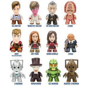 """[Doctor Who: TITANS: The 11th Doctor """"Geronimo!"""" Collection (Complete Display) (Product Image)]"""