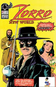 [Zorro: New World #2 (Cover A Capaldi) (Product Image)]