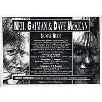 [Neil Gaiman and Dave McKean Signing (Product Image)]