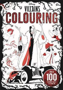 [Disney Villains: Colouring Book (Product Image)]