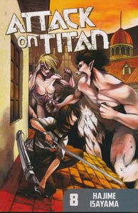 [Attack On Titan: Volume 8 (Product Image)]