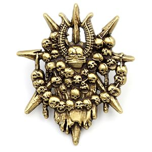 [Warhammer 40k: Artifact Pin Badge: Chaos Legions (Product Image)]