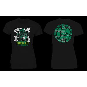 [Teenage Mutant Ninja Turtles: Women's Fit T-Shirt: Turtles Quote (Filled) (Product Image)]