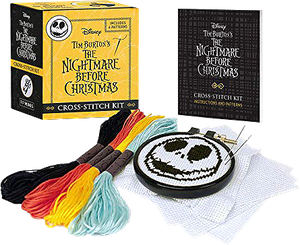 [Nightmare Before Christmas: Cross Stitch Kit (Product Image)]