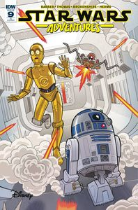 [Star Wars: Adventures #9 (Fleecs Variant) (Product Image)]