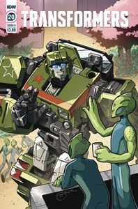 [Transformers #20 (Cover B Lawrence) (Product Image)]