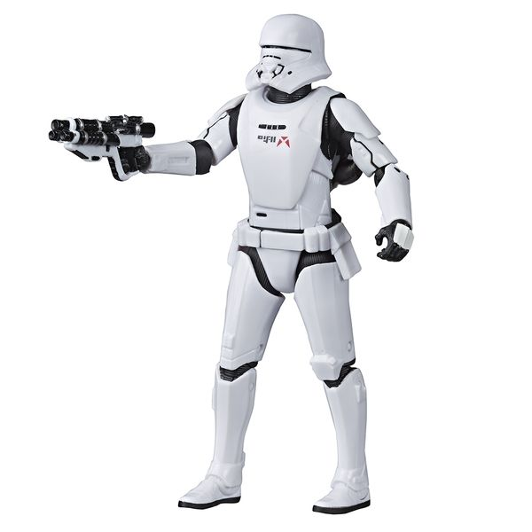 [The cover for Star Wars: The Rise Of Skywalker: Black Series Action Figure: First Order Jet Trooper]