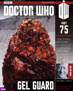[Doctor Who: Figurine Collection Magazine #75 Gel Guard (Product Image)]
