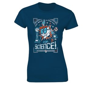 [Dexter's Laboratory: Women's Fit T-Shirt: A Fine Day For Science! (Product Image)]