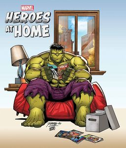 [Heroes At Home #1 (Ron Lim Variant) (Product Image)]