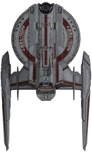 [Star Trek Discovery: Figure Collection Magazine #1 USS Shenzhou NCC-1227 (Product Image)]