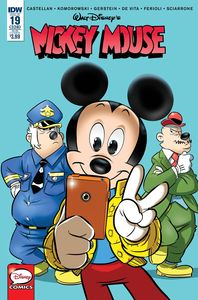[Mickey Mouse #19 (Subscription Variant) (Product Image)]