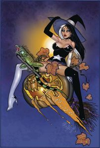[Tarot Witch Of The Black Rose #118 (Halloween Witch) (Product Image)]