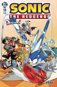 [Sonic The Hedgehog #19 (Cover A Jampole) (Product Image)]