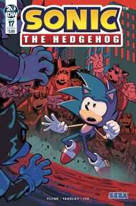 [Sonic The Hedgehog #17 (Cover A Lawrence) (Product Image)]