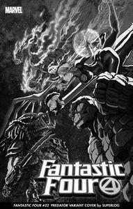 [Fantastic Four #32 (Superlog Predator Variant) (Product Image)]