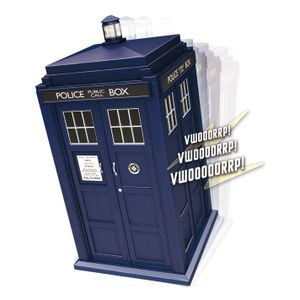 [Doctor Who: Spin & Fly TARDIS (Product Image)]