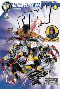 [Actionverse Ongoing #4 (Stray Cover A Izaakse) (Product Image)]
