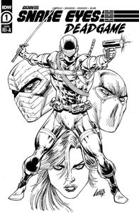 [Snake Eyes: Deadgame #1 (Liefield Ink Variant) (Product Image)]