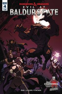 [Dungeons & Dragons: Evil At Baldurs Gate #4 (Cover B Bachs) (Product Image)]