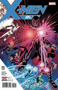 [X-Men: Blue #2 (2nd Printing) (Product Image)]