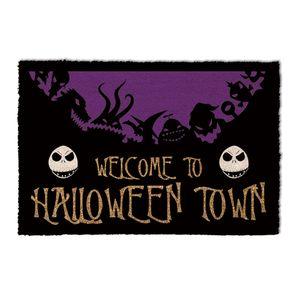 [Nightmare Before Christmas: Doormat: Halloween Town (Product Image)]