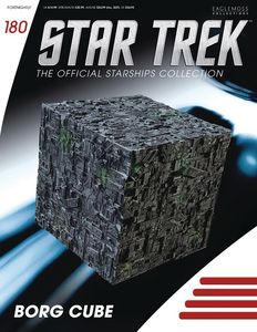 [Star Trek Starships #180: Borg Cube (Product Image)]
