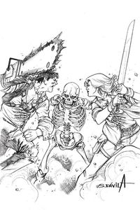 [Death To The Army Of Darkness #4 (Davila Black & White Virgin Variant) (Product Image)]