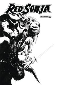 [Red Sonja #14 (Lee B&W Variant) (Product Image)]