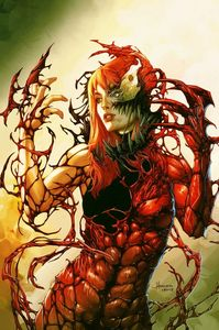[Symbiote Spider-Man #1 (Anacleto 'Carnage Queen' Virgin Variant) (Product Image)]