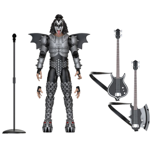 [Kiss: BST AXN Action Figure: The Demon (Product Image)]