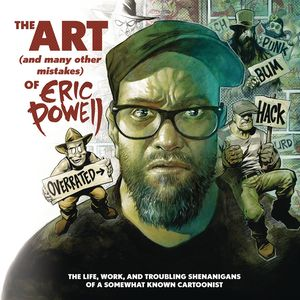 [The Art & Many Mistakes  Of Eric Powell (Hardcover) (Product Image)]